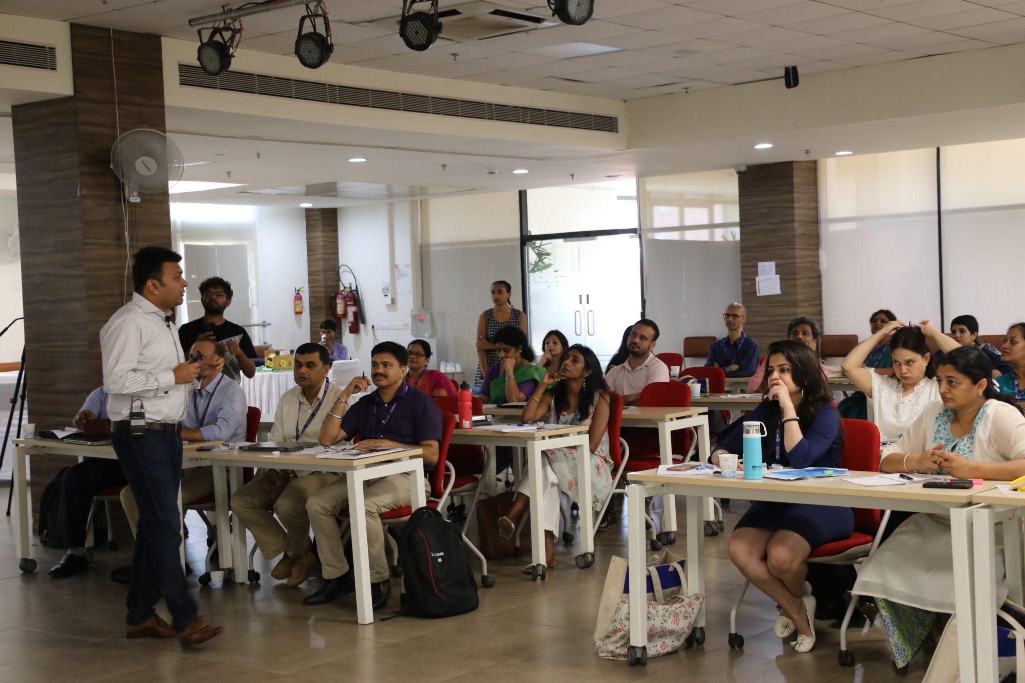 Discussion at Ashoka University